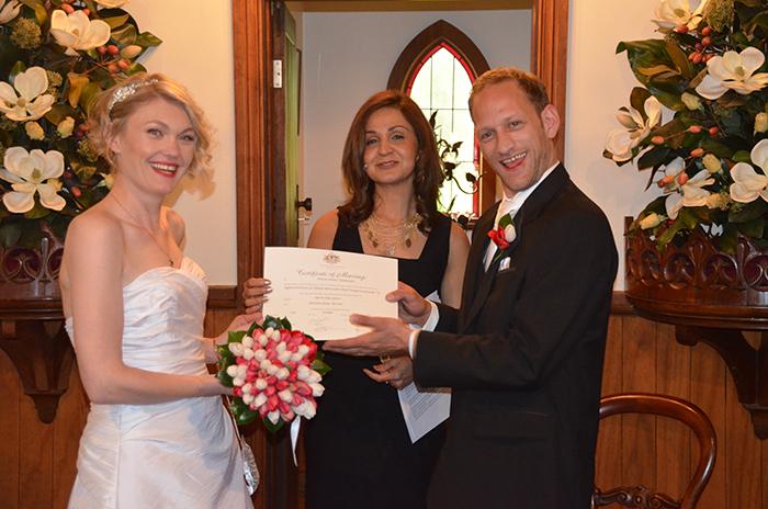 Knox civil marriage celebrant