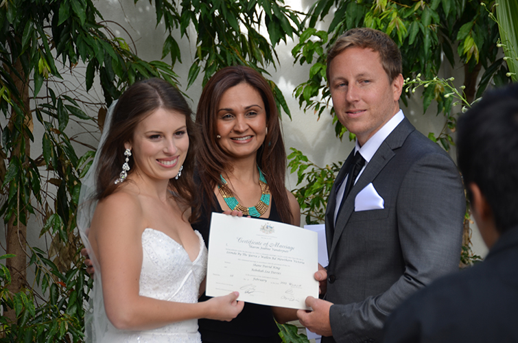 kew wedding celebrant