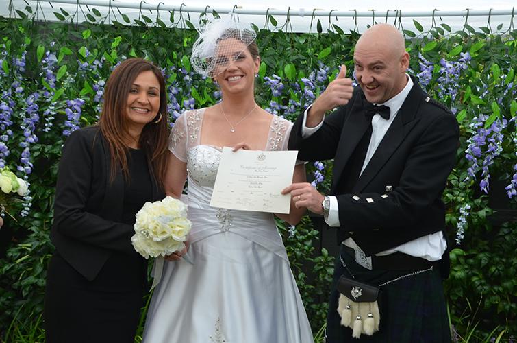 richmond civil wedding celebrant