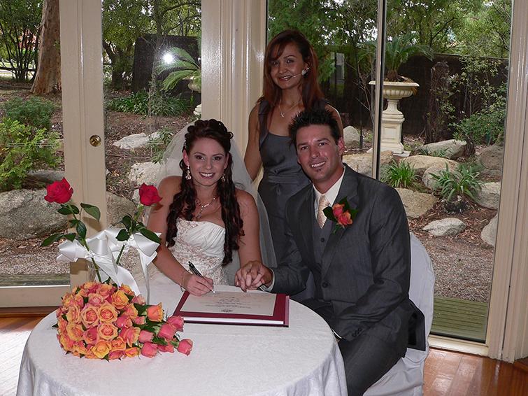 mount dandenong wedding celebrant