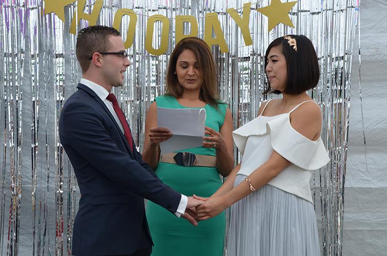 mixed marriage melbourne celebrant