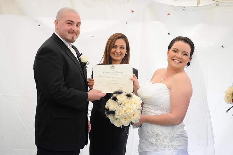 mill park civil wedding celebrant