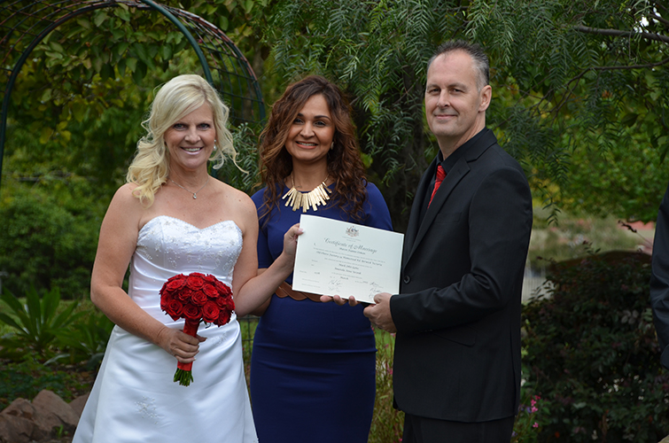ferny creek marriage celebrant