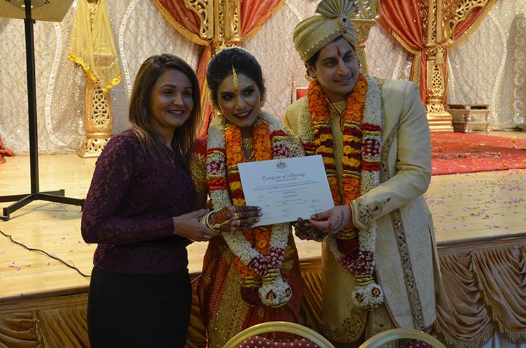 indian hindu weddings marriage celebrant