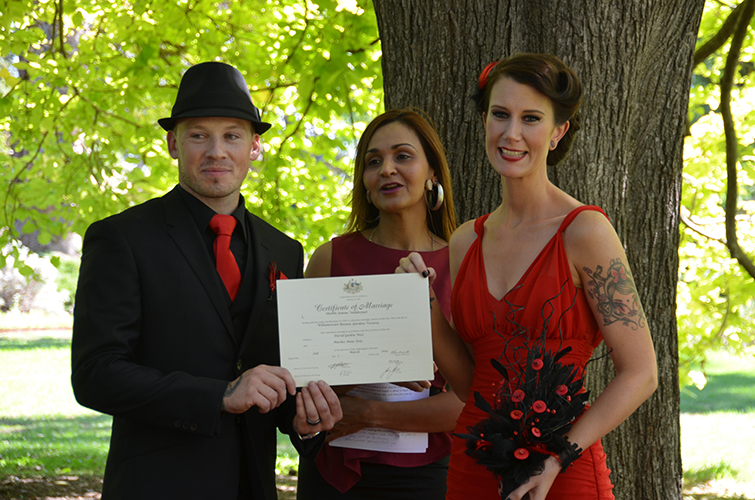 basic ceremony melbourne civil wedding celebrant