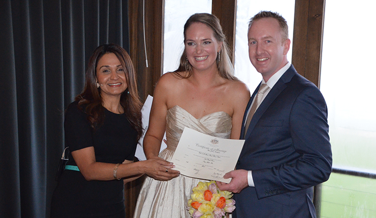 surprise weddings melbourne celebrant