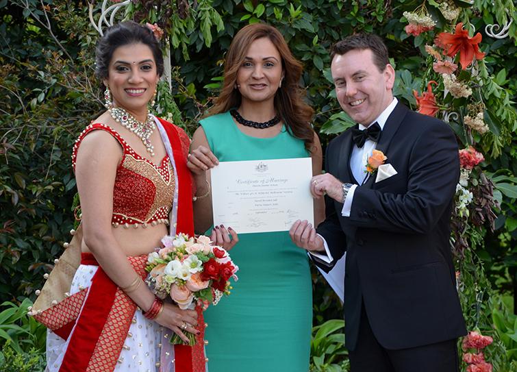 mulgrave marriage celebrant