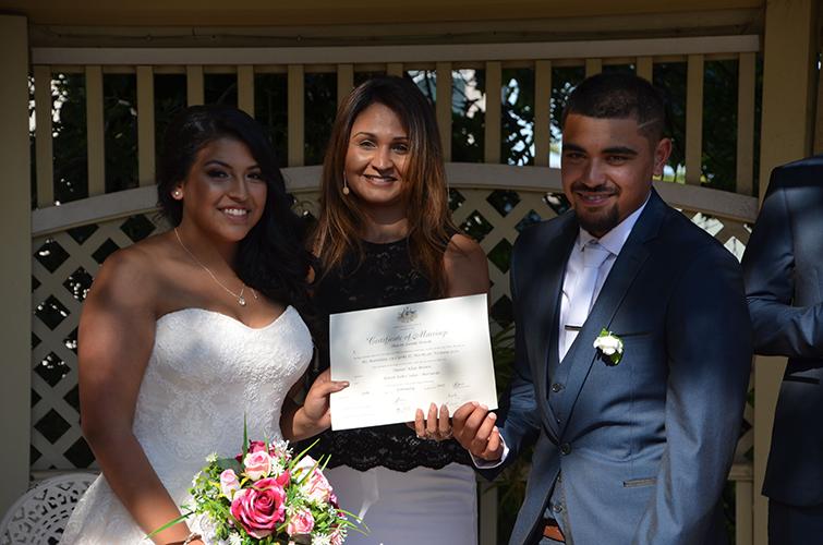 mulgrave wedding celebrant