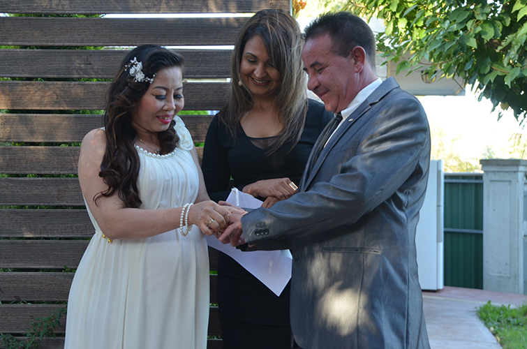melbourne wedding celebrant letter for spouse visa