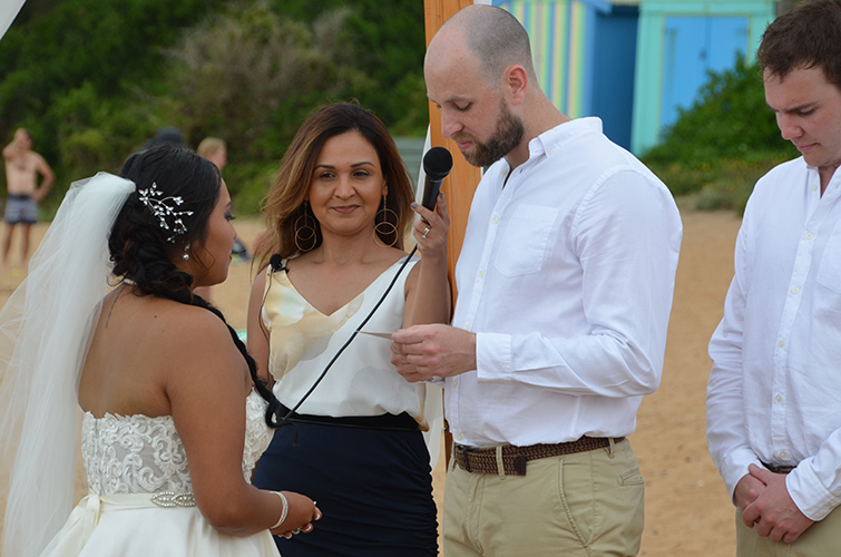 modern meaningful melbourne wedding celebrant