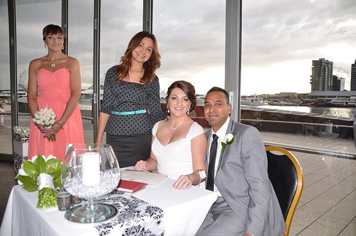 fiance visa application marriage celebrant letter