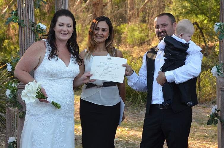 mount eliza wedding celebrant