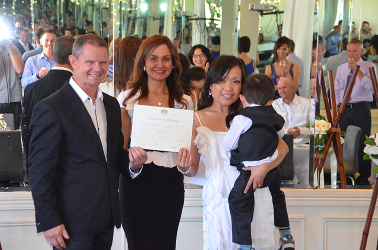 prospective marriage visa fiance immigration civil wedding celebrant