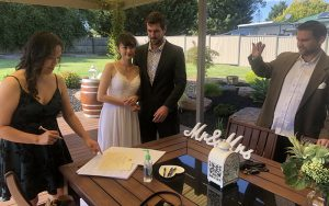 melbourne backyard wedding marriage celebrant