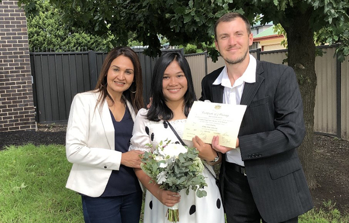 easy weddings at home melbourne civil celebrant