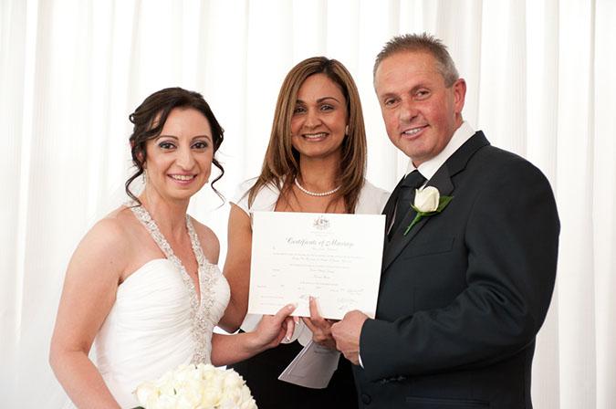 wedding celebrant rowville