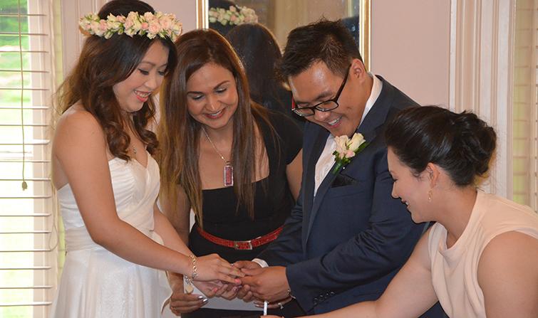 fiance visa application marriage celebrant service