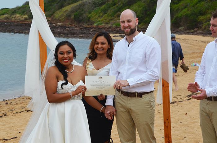melbourne marriage celebrant spouse visa